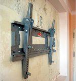 Как крепить кронштейн для телевизора на стену – крепление с кроншейном и без