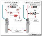 При выключенном свете моргает лампочка энергосберегающая – Энергосберегающая лампа мигает после выключения